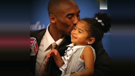 科比和女儿Gigi的珍贵画面