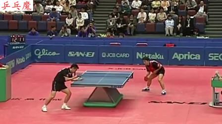 19年前的直横大战!2001年世乒赛马琳vs孔令辉
