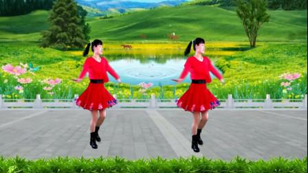 广场舞《陪你一起看草原》好听好看