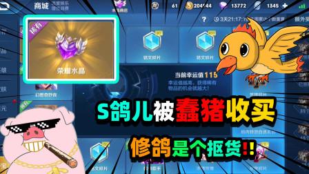 王者荣耀:S裴奇偷送皮肤被发现!蠢猪却说是为了收买S鸽儿,游戏真好玩