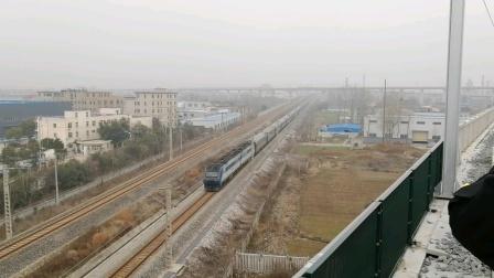 宁启线 K245/8次(扬州-成都)上局徐段DF11G-0139/0140牵引