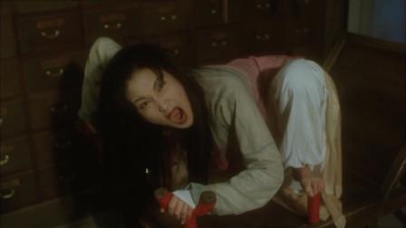 这位姑娘病的不轻!看架势是要吃了大夫!看嘉玲姐把她打回原形