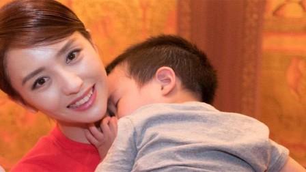 """佟丽娅儿子4岁生日,卖苹果赚钱买""""钻石""""送妈妈,立志要娶妈妈"""