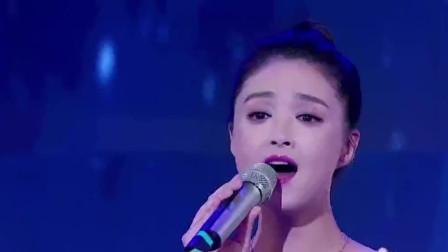 蒋欣演唱《灰姑娘》,一袭黑色长裙,开嗓好好听啊