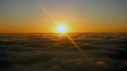 安徽自驾游,黄山全程徒步第二天,光明顶上看云海日出,大自然的奇观!