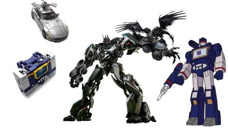 两款有趣的变形金刚机器人比较