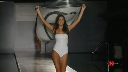 迈阿密泳装周精彩秀,自信的超模总是很迷人