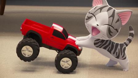 甜甜私房猫:小奇,像小孩子一样,很开心哦