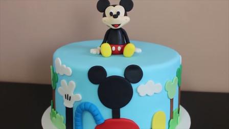 这样做蛋糕太好玩了!做成孩子喜欢的米老鼠,你知道它的名字吗?