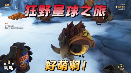 极致哥《狂野星球之旅》01:飞船故障迫降外星球,遇到了超萌的大眼外星生物
