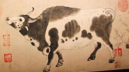 云看展|故宫博物院藏 唐代 韩滉的《五牛图》