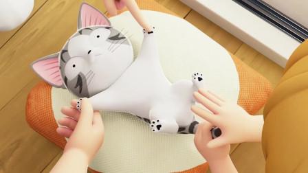 甜甜私房猫:小奇,你舒服吗