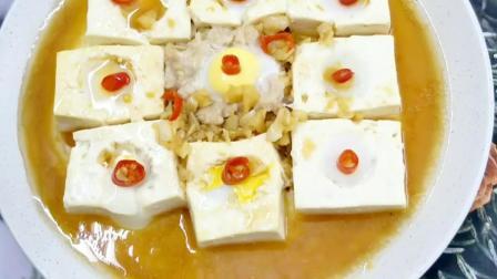 豆腐和鹌鹑蛋这样做,好吃好吃