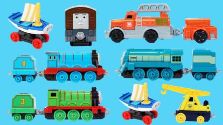 托马斯小火车的合金版玩具