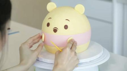 这么萌的小熊原来是牛人做的蛋糕?这创意太牛了!我给100分哦