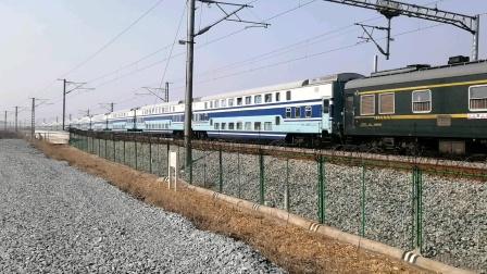 宁启线 K5737/6次春运临客(南京-盐城)上局宁东段DF11-0369