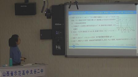 山西省高三适应性考试化学讲解P2——太谷二中程瑞芳