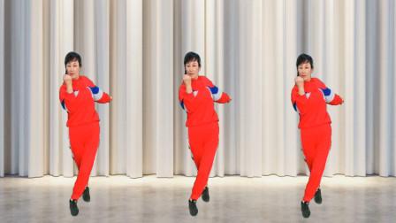 健康一生广场舞《中国加油武汉加油》抗击新型冠状病毒加油 正背面附教学