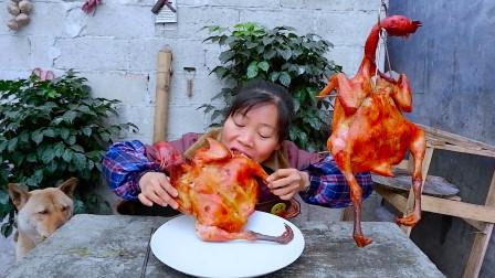 """""""奥尔良烤鸡""""教程来咯,色泽红亮,一次烤2只,吃到满嘴流油"""