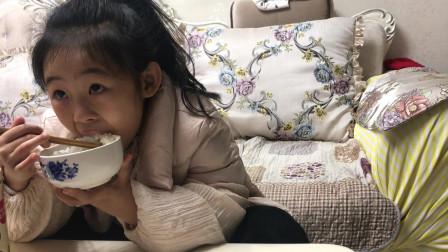 8岁小朋友吃饭视频 味库美食视频 吃饭睡觉打豆豆
