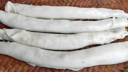 广西隆安特色卷筒粉传统做法,石磨真给力,还是小时候的味道