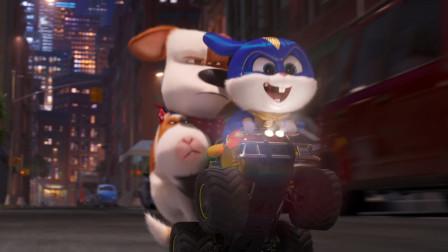 #1076 谷阿莫:狗带着猫在兔子老鼠的协助下打倒狼和猴子气死人类救走老虎《爱宠大机密2》