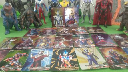 拆了三包超宇宙英雄对战卡唯独最喜欢银河奥特曼的烫金卡快来看看你们喜欢哪张卡片