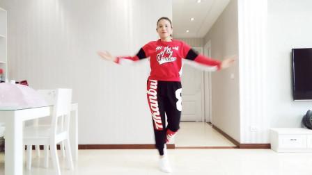 励志舞曲《不放弃》动感强跳32步,基本步好看好学