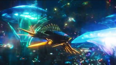海王:超级震撼的海底世界,或许只有外星文明才可以创造吧