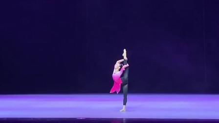 桃李杯古典舞技巧组合,37秒处感觉有点卡顿,音乐和舞蹈超级美!
