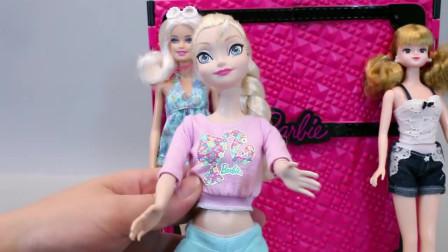 芭比娃娃服装搭配 芭比配饰玩具
