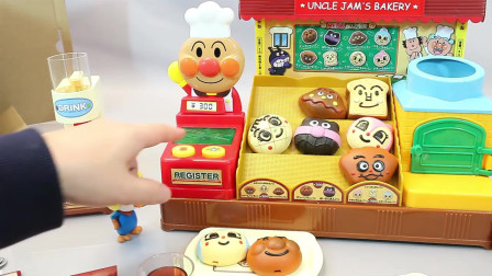 面包超人烘焙面包店玩具套装