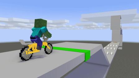 我的世界动画-怪物学院-快乐轮盘闯关挑战-ROBE CUBE