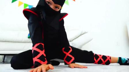 好神奇!萌宝小正太为何穿上超人的衣服妈妈就看不见他?趣味玩具故事