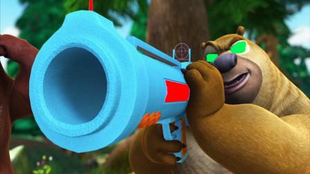 熊出没大冒险 熊二独自挑战大boss 再也不是从前的熊二了