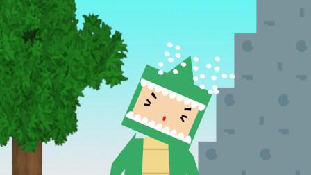 迷你世界动画第一集:迷斯拉探险未知世界,想成为这里最厉害的人