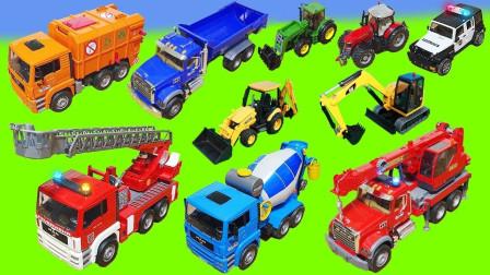 最新挖掘机视频表演10075大卡车运输挖土机+挖机工作+工程车