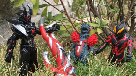 奥特曼玩具故事,复活的怪兽路基艾尔,贝利亚想与他合作被拒绝