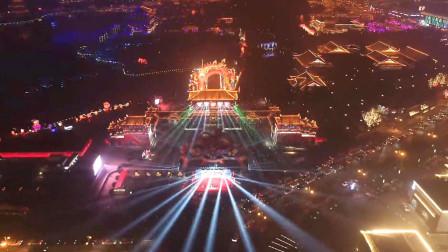 《主播爱旅游》节目组走进大唐芙蓉园双城灯会
