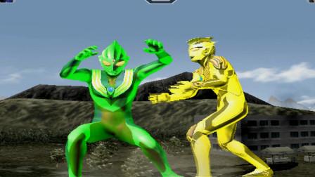 闪耀形态雷杰多大战绿色迪迦,猜猜谁更强?最后结局我笑了