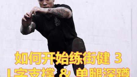 如何开始练街健3  L字支撑 & 单腿深蹲 by Thenx