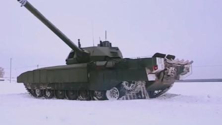采用无人炮塔黑科技T-14主战坦克,俄罗斯的下一代主战坦克