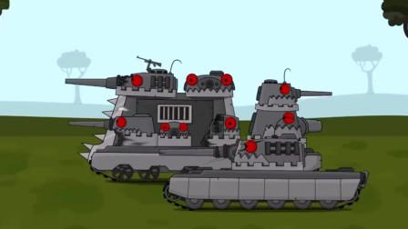坦克世界动画:章鱼头坦克全线出击