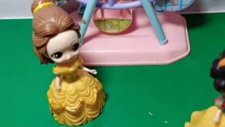 贝儿想吃美味的糖果,白雪自己动手帮她做,贝儿觉着味道怎么样?