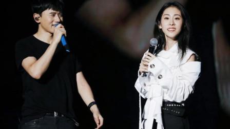 谢娜吃醋了!张杰、张碧晨合唱《三生三世》太般配,贴身共舞太美了