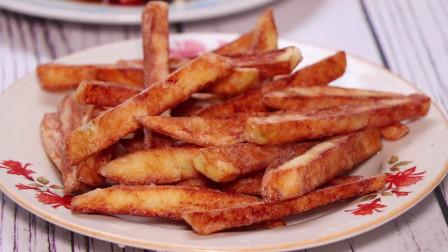 炸薯条的家常做法,外酥里嫩,不失败的秘诀很简单