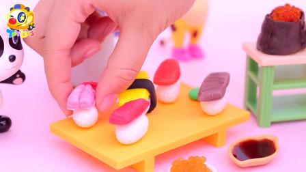 玩具:开派对楼,妙妙制造美味的寿司!真美味。