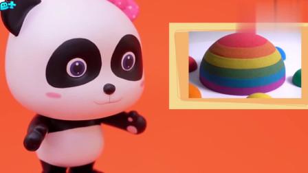 少儿益智宝宝巴士:蘑菇蛋糕,彩虹蘑菇蛋糕也是特别的生日礼物