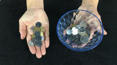刘谦是怎么空碗变出硬币的?忽悠了我10多年的魔术,看完后我服了