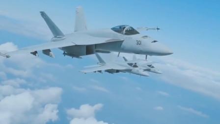 与F-18相似度仅10%,FA-18EF超级大黄蜂舰载攻击机